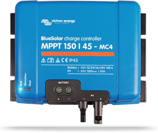 BlueSolar MPPT 150 45-MC4 (12 24 48V-45A)